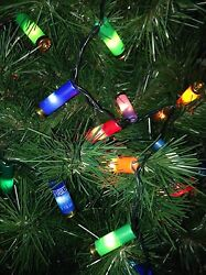 Shotgun Shells Decorative Party Lights - Wreath You Choose Christmas Lodge Decor