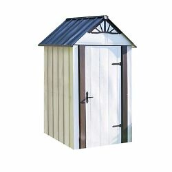 Designer Series Metro Backyard Steel Storage Shed 4' x 4' NEW NEW NEW NEW