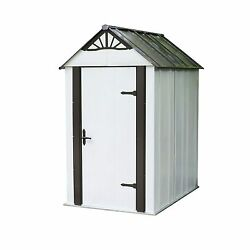 Designer Series Metro Steel Storage Shed 4' x 6' NEW NEW NEW NEW