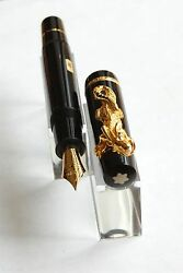 MONTBLANC YEAR OF THE GOLDEN DRAGON FOUNTAIN PEN SEALED RARE NEW # 19212000