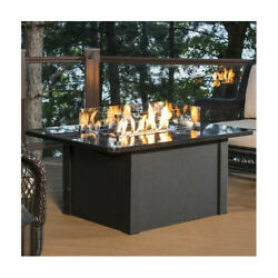 The Outdoor GreatRoom Company Grandstone Crystal Fire Pit Table