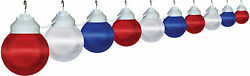 Polymer Products Patriotic 10 Light String Lighting Set of 10