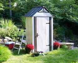 Arrow Designer Series Metro 4X2 Metal Shed [DSM42]