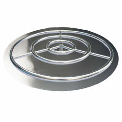 Arctic Flame Stainless Steel Pan Ring Burner Fire Pit