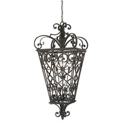 Quoizel French Quarter 8 Light Outdoor Hanging Lantern