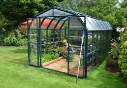 Rion Grand Gardener 2 Clear 8X16 Greenhouse [HG7216C]