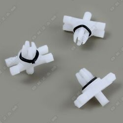 10x Trim Rain gutter Rain guard Trim Clips Mounting Clips for BMW E46