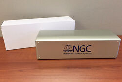 SILVER BOX Brand New NGC Storage Plastic Box ~ Holds 20 NGC Slabs. $14.75
