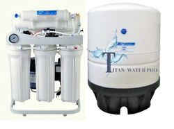 RO Light Commercial Reverse Osmosis Water Filter System 300 GPD- Booster Pump-PG