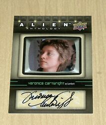 2016 Upper Deck UD Alien Anthology autograph Veronica Cartwright LAMBERT SA-VC