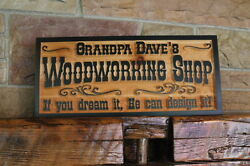 Custom Carved Wood Sign Personalized Plaque Rustic Signs Home Cabin Cedar Lake $69.95