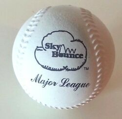 4 Sky Rubber Balls Rubber Sponge baseball With Major League stamp $12.99