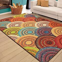 RUGS AREA RUGS CARPETS 8x10 RUG FLOOR MODERN CUTE COLORFUL LARGE BIG COOL RUGS $269.00