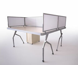 OBEX Polycarbonate Desk Mounted Privacy Panel