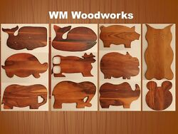 Handmade wooden home and kitchen decor items