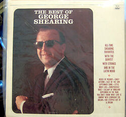 The Best of George Shearing     Re-issue Mono Capitol SM-2104