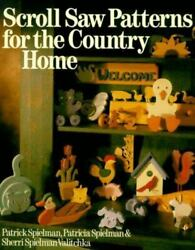 Scroll Saw Patterns for the Country Home $4.09