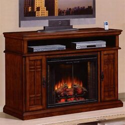 Classic Flames Carmel Premium Pecan Cherry Cabinet Only 28MM764-C253 - Free Ship