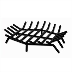 Uniflame 24 Inch Hex Shape Bar Grate for Outdoor Fireplaces Transitional