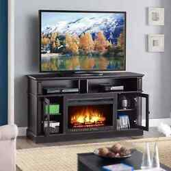Electric Fireplace Media Center TV Stand 70