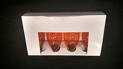 Brand New C9 Replacement Bulbs Package of 4 Orange Transparent New $2.99