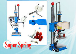 Complete Pro Hot Foil Stamping Machine custom logo seal embossing leather tools