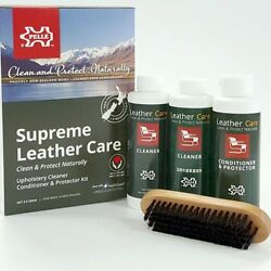Pelle Leather Care - Supreme Leather Kit  Upholstery lounge CleanerConditioner