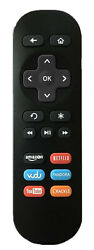 Replacement Remote Control 1 for ROKU 1 2 3 4 LT HD XD XS XDS with Instant Reply $6.95