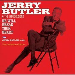 Jerry Butler - He Will Break Your Heart  Jerry Butler Esq [New CD] Bonus Tracks