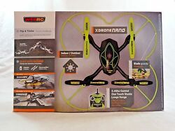 WebRC XDrone Drone Nano Quadcopter G140006 Yellow Black PARTS OR REPAIR $21.24