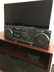 PANASONIC RX-DS660 STEREO BOOMBOX CASSETTE AMFM RADIO ACOUSTIC AIR SUSPENTION  $1,995.00