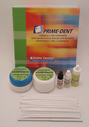 Prime Dent Dental Chemical Self Cure Composite Kit 15gm 15gm amp; Bonding USA Made $27.99