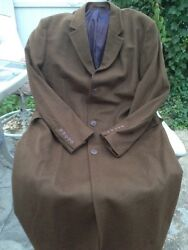 Ermenegildo Zegna Cloth Wool&Cashmere Full Length Coat