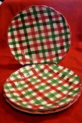 SET OF 3 THE CELLAR HAND-PAINTED LOG CABIN ITALY CHRISTMAS 10-14