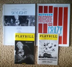 SKYLIGHT & BETWEEN RIVERSIDE AND CRAZY Playbills and Collected Reviews