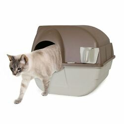 Automatic Cat Litter Box Self Cleaning Covered Enclosed Hooded Kitty Kitten $184.62