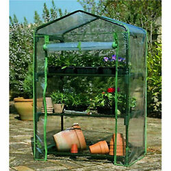 J-Home 3 TIER GREEN HOUSE Greenhouse grow FOR GARDEN POTS FLOWERS Plants Seeds