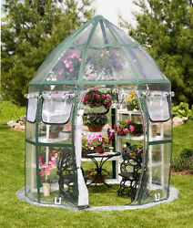 Flowerhouse Conservatory 8.6 Ft. W x 8.6 Ft. D Greenhouse