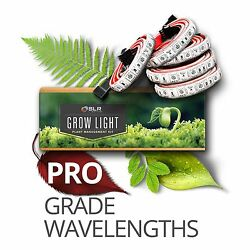 SLR Lighting LED Professional Grow Strips for Garden Closets Green House Flowers