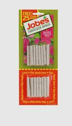 50 pk JOBE#x27;S Fertilizer Spikes Flowering House Plant Indoor All Year 10 10 4 NEW $6.74