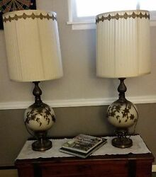 Antique lamps $100.00