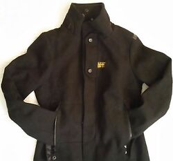 G Star Raw Women's Wool Blend 3301 Winter Hip-length Coat Jacket Size S Used