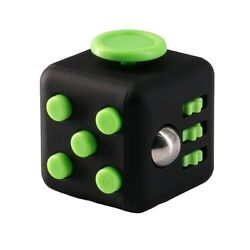 Fidget Toy Cube Stress Anxiety Relief Desk Relief 6 Sided For Adults Kids Focus $5.99