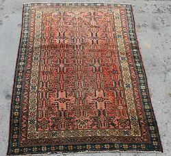 ANTIQUE ORIENTAL HAND MADE RUG CLEANED READY TO USE 42 wide by 5 foot long