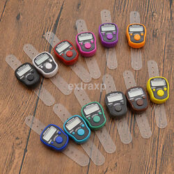 Portable Mini 5 Digit LCD Electronic Digital Golf Finger Hand Ring Tally Counter C $1.21