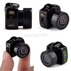 New Portable HD Mini Small Camera Camcorder Video Recorder DVR Digital Webcam US $7.66