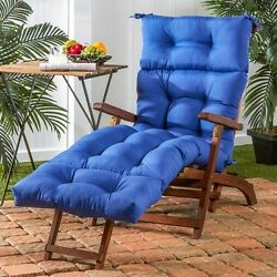 Chaise Lounge Chair Cushion Replacement Patio Uv-Resistant Outdoor Seat Mattress
