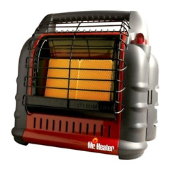 Mr Heater Big Buddy Portable Heater Liquid Propane Dual-Heating System  F274800
