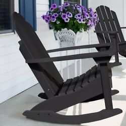 Darby Home Co Jeanne Adirondack Rocking Chair