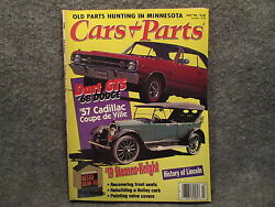 Cars amp; Parts Magazine Vol 39 No 7 July 1996 Old Parts Hunting In Minnesota $8.99